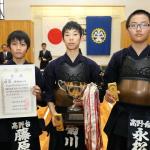 優勝した中学生チーム